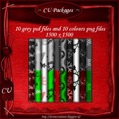 CU Christmas Packages [Denise Creationz] - $2.20 : , Exclusive Scrapping Divas