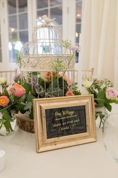 table names rustic birdcage flowers centre piece Table Centerpieces, Wedding Centerpieces, Wedding Decorations, Table Decorations, Birdcage Wedding Decor, Wedding Flowers, Irish Wedding, Dream Wedding, Table Names