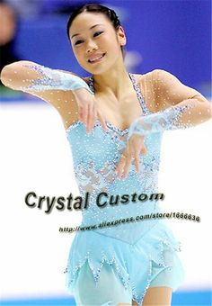 Girls Figure Skating Dresses With Spandex New Brand Vogue Figure Skating Competition Dress Customized  DR3222