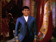 Paolo Montalban playing the Prince in Cinderella. LOVE HIM!