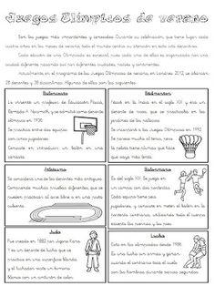 El arte de enseñar: Juegos olímpicos