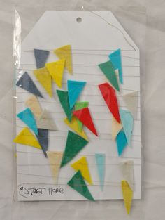 adorable bunting. must remember to note where to start the bunting so that it doesn't get tangled up!