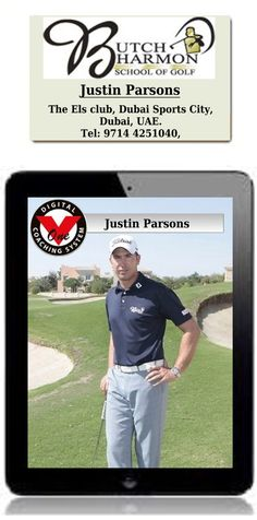 Justin Parsons is the Director of Instruction at the prestigious Butch Harmon Golf School.  Golf Lessons Online is proud to have Justin as a part of our team providing online golf lessons.  Justin is based at the Butch Harmon  Golf School at the Els Club in Dubai.