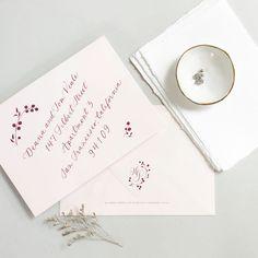 Beautiful calligraphy for your wedding envelopes Beautiful Calligraphy, Modern Calligraphy, Wedding Envelopes, Wedding Invitations, Blush Wedding Palette, Romantic Wedding Inspiration, Invitation Suite, Reception Decorations, Elegant Wedding