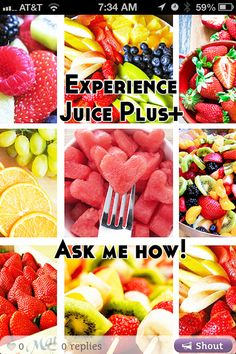 N-s.juiceplus.com  bridge the gap between what you currently eat for fruits and veggies and what you should eat! Capsules and chewables!! Under $2.50/day!!!