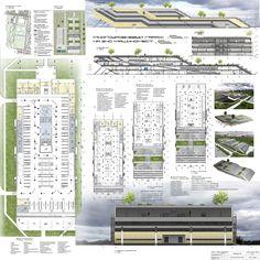 Industrial Architecture, Futuristic Architecture, Parking Design, Car Parking, Floor Plans, Pictures, Basements, Division, Ideas