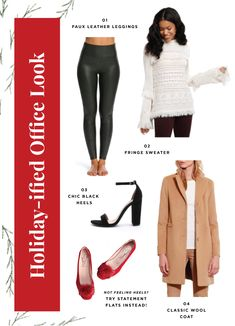 holiday capsule wardrobe   what to wear to all your holiday events   dressing for the holidays   holiday party