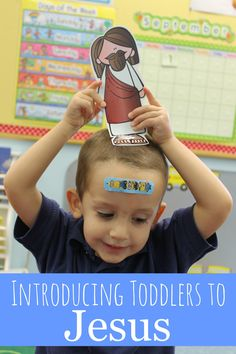Introducing Toddlers to Jesus - love all of these easy ways to teach a preschooler that Jesus loves them.