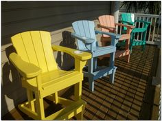 Coastal Deck Chair Company - Unique, Comfortable Wood Adirondack Chairs