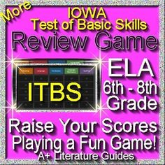 Iowa Test Ela Reading Itbs Iowa Test Of Basic Skills Resources