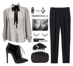 """""""Emma"""" by ragelove ❤ liked on Polyvore featuring Valentino, Topshop, Rebecca Taylor, Alexander McQueen, MAC Cosmetics, women's clothing, women's fashion, women, female and woman"""