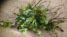 Trauergesteck mit Zweigen Plants, Branches, Plant, Planets