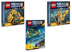 Gewinnspiel: wir verlosen zwei Lego Nexo Knights Fanpakete, bestehend aus DVD und CDs. Zum Teilnahmeformular: