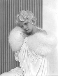 Jean Harlow by William Mortensen 19327 #vintage #photo