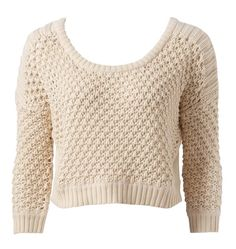 Helena Tuckstitch Cropped Sweater - Forever New
