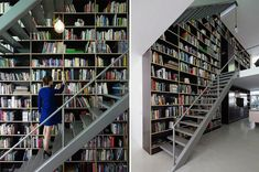 Dream Homes Built for Books and the Nerds Who Love Them. In love. Must buy one. Or all for that matter.