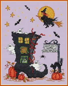 Homecoming - Cross Stitch Pattern