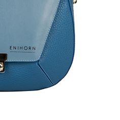 •E N I H O R N LOOKBOOK SS'17• Lisanne #skyblue 1.1 #fashion #hungarian #dessigner #leatherbag #bag #handbag #ootd