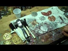 ▶Do you realize that with this product you can rehab any piece of metal jewelry? If it has pealed,  cracked, or whatever odd things your metals have done, You can make them AWESOME! Even change from silver to gold, or brass or bronze! Making Your Own Custom Finishes Over Brass Stampings/Gold and Silver Plated Finishes - YouTube