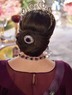 4 Tiaras, 3 Glowing Princesses, 2 Baby Bumps: The Swedish Royals Dazzle at Nobel Awards| The British Royals, The Royals, Prince Carl Philip, Prince Daniel Westling, Princess Madeleine, Princess Sofia, Princess Victoria