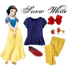 Snow White Inspired Casual Girl Look