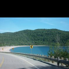 Highway 17, outside of Sault Ste. Marie, Ontario...on the shores of Lake Superior.