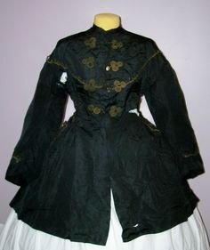 1860s carriage jacket | 1860s paletot Lace Dress #2dayslook #lily25789 #watsonlucy723 # ...