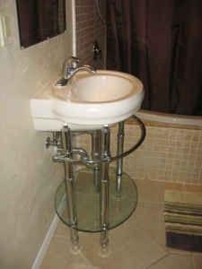 Jacuzzi Pedestal Sink Half Bath Remodel Quot Jacuzzi