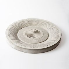 Concrete bowl from Object & http://object-and.com/ Dutch designers. via TouchOfModern