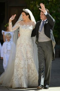 Casamento Real Luxemburgo Principe Felix Claire 4 · Modest Wedding  DressesDress ...