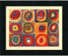 As A Founding Father Of Abstract Art At The Turn Of The 20Th Century, Kandinsky Used The Intensity And Abstraction Of Musical Compositions To Inspire His Paintings. - Artist: Wassily Kandinsky - Title