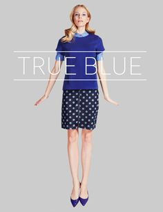 Our SS13 True Blue trend via @stylenestuk