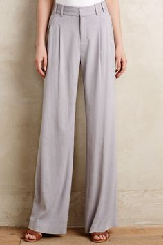 Verso Wide-Leg Trousers - anthropologie.com