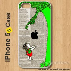 iPhone 5S Case The Giving Tree - Hard Cover