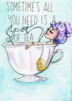 Tea Quotes, Coffee Quotes, Tea Puns, Diy Note Cards, Tea And Books, Cuppa Tea, Tea Benefits, Cute Cups, Tea Art