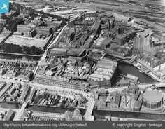 Huntley and Palmers Biscuit Factory and Reading Prison, Reading, 1920