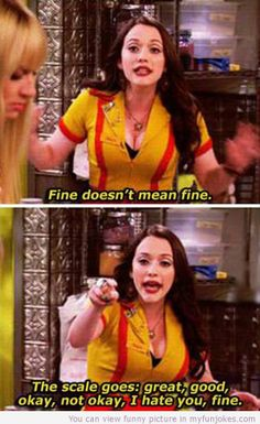 Fine doesnt mean fine
