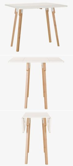 Folding & Expanding Tables — Small Space Solutions | Apartment Therapy