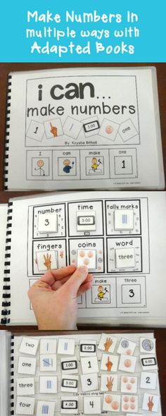 Gain number sense using this adapted books.
