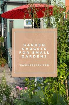 Is your small garden missing one of these 3 nifty tools? Garden Gadgets, Garden Tools, Garden Ideas, Mini Shed, Kitchen Waste, Paving Stones, Interior Stylist, Love Home, Garden Spaces