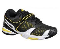separation shoes c69d1 2fabb Babolat Trainers Shoes Kids Propulse 4 Jr Black on Sale. Triad Tennis