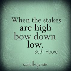 Nik Wallenda #skywire last night reminded me of this Beth Moore quote...