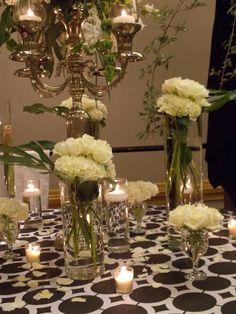 white table scape