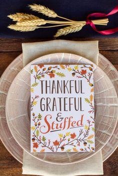 thankful // grateful // stuffed #thanksgiving #theeverygirl