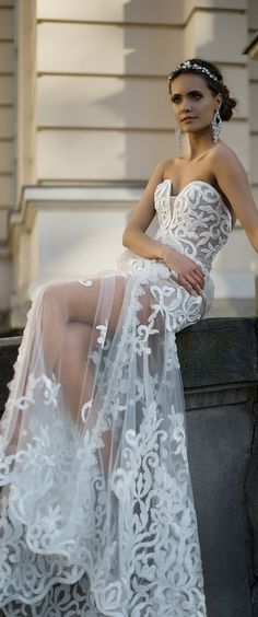Milla Nova 2016 bridal wedding dresses / http://www.deerpearlflowers.com/milla-nova-wedding-dresses/7/