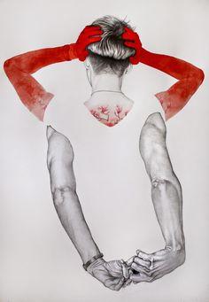 illustrations by antonella montes a.k.a. lantomo