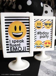party collection - emoji birthday on eye candy creative studio