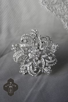 Classic Gal Must Have #38 - a vintage, sparkly brooch