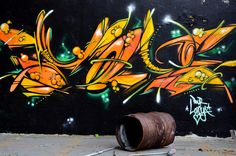 """https://flic.kr/p/dkAspy   Art de rue  -  Street art   Sortie de """"La Longue Vue d'Alsace...""""  du 13 octobre 2012  Une usine désaffectée , proie des tagueurs avant destruction.  A disused factory, a prey of the taggers before destruction  ALL RIGHT RESERVED © All material in my gallery MAY NOT be reproduced, copied, edited, published, transmitted or uploaded in any way without my written permission"""