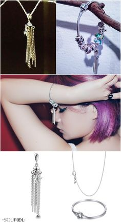 Necklace or charms bracelets, variety of usage is entirely up to you!
